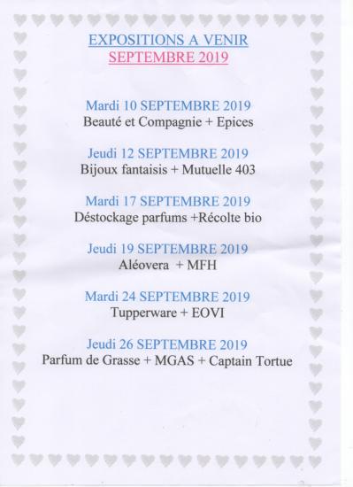 Expo septembre